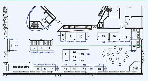Exhibition Booth Plan : Exhibition